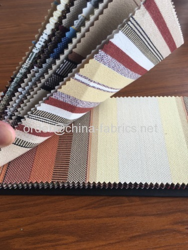 Polyester spun yarn oxford awning fabric