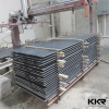 black artificial stone slab for counter top table top