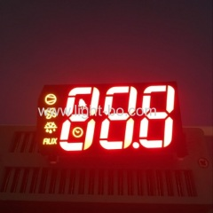Customized 3 digit 7 segment led display for digital panel indicator