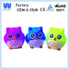 Waterproof led bath toy flashing owl light