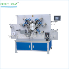 4-color double-side NC rotating trademark printing machine