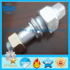 Customized Tyre Bolt and Nut for Tractor auto wheel hub bolt auto fasteners truck hub bolt tractor hub bolt zinc plated