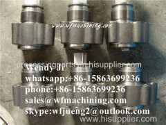 Customized Trailer Wheel Rims Forging of Farm Equipment with Forging Machining