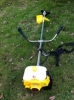 Robin type CG411 40.2cc 1.47kw brush cutter grass trimmer with blade