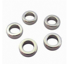 Sintered Rare Earth Neodymium Magnets Ring Diameter Magnetized N35