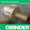 Obinder twin ring wire spool wire binding packing