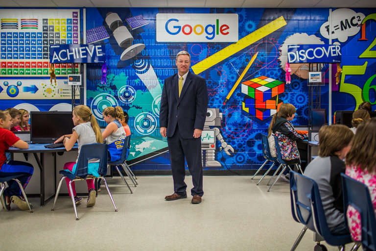 Google Effect Rubs Off on Schools in One Rural Oklahoma Town