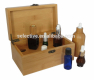 EMPTY ESSENTIAL OIL BOTTLE PACKAGING WOODEN BOX