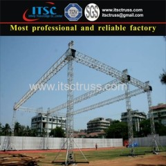 6 Tower structure box truss flat roof system hot-sale in India market