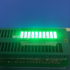 Pure Green 10 Segment LED Bar for Instrument Panel