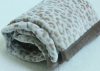 China supplier green wholesale soft texitile faux fur eco-friendly throw blanket by make-to-order