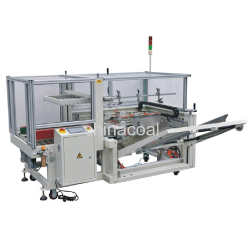CE Certification Case Erector and Bottom Sealer Carton Erecting Machine Case Erector and Bottom Sealer