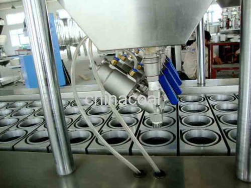 CE standard Manufacture Full Automatic Cup Filling Sealing Machine yogurt filling machine cream filling machine