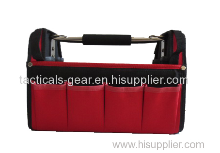 red steel rod handle tool case
