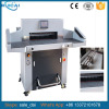 CE Approved Hydraulic Paper Cutting Machine with Air Rolling Ball