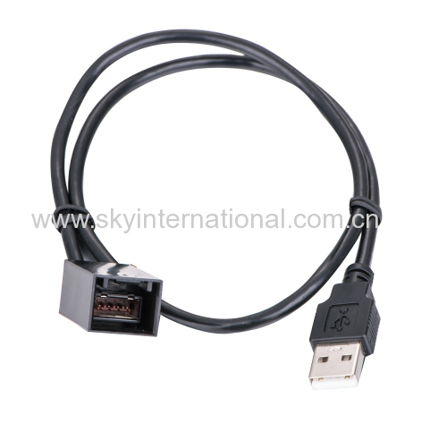 USB Cable Adapter for Honda Civic Jazz Fit CR-V Accord Odyssey 90CM