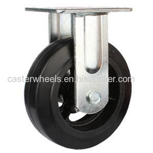 Rubber On Iron Caster