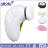 Electric Silicone Face Cleaning Brush Facial Cleansing Skin Cleanser Massage