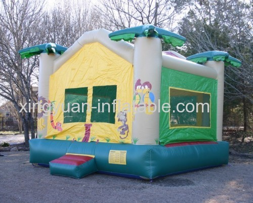 Jungle Inflatable Jumping Castle For Sale