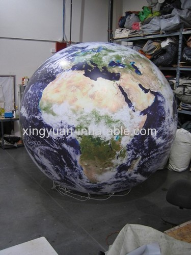 Hot Selling Ourdoor Inflatable Earth Globe
