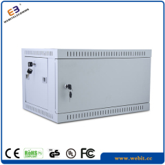 19 inch wall mounted cabinet with metal door