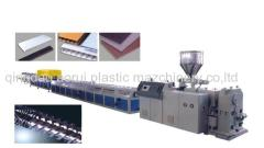 PVC PP PE Wooden Plastic Profile Production Line wood Composite Plastic Skirting Board Extruder