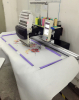 Single Head Computerized Embroidery Machine for hat / t-shirt with Large Embroidery Area