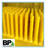 Galvanized and Powder Coated Yellow Steel bollards for Safety