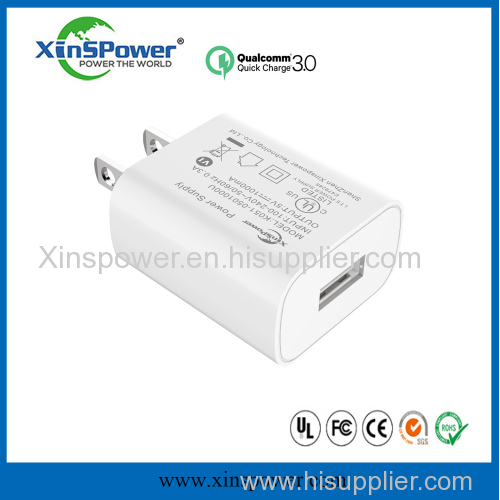 Xinspower 5V 1A Single Port Multifunctional Cheap USB Charger
