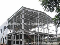 Low cost light steel structure building factory