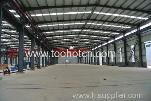 Steel structure workshop warehoue