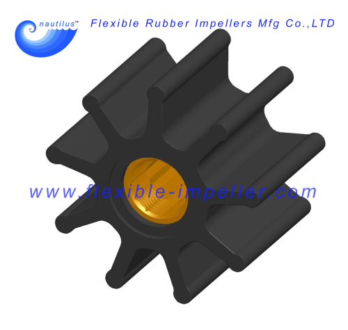 Flexible Rubber Impellers Replace Jabsco Impeller 836-0003 for Marine Engine Raw Water Pumps