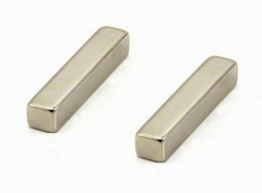 High Strong Holding Force Sintered Neodymium Block Magnets N50 Grade Nickel
