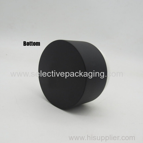 50g black coating color bamboo cream jar