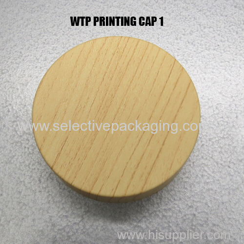 caps for jars wooden cap wtp printing lid wood texture