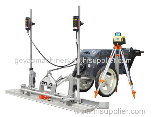 Walk-behind Concrete Laser screed GYL-22 (half hydraulic type) WITH HONDA GX390 ENGINE