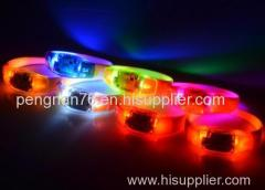 New style colorful silicone remote controlled LED bracelet