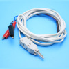 2 or 4 Pole Network Cable Plug Test Cord with Alligator Clip