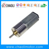 45rpm Low Maintenance Ordinary Spur Gearbox Motor ChaoLi-G10-FFM20 For Electric Toy And Electric Eyelash Curler