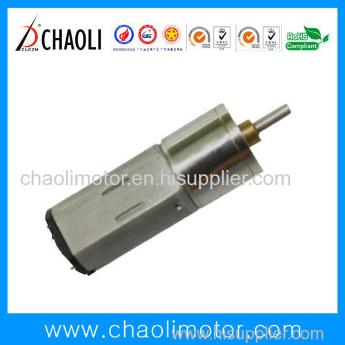 Low Current Low Speed Gear Motor With Reduction Gear Box ChaoLi-G8-FFK20 For Hair Curler And 3D Printer