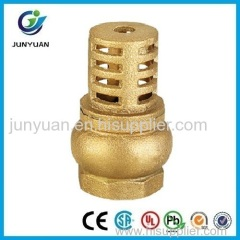 BRASS DOUBLE GUIDE FOOT VALVE