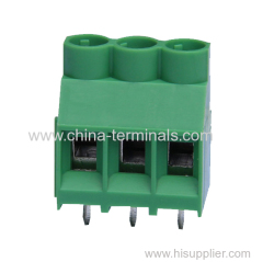 26-10 AWG 6.35MM UL/CE PCB electrical Screw Terminal Blocks