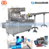 Cellophane Soap Wrapping Machine with Transparent Film|Automatic Overwrapping Machine for Small Boxes