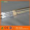 Medium wave quartz heating element