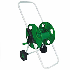 Plastic Garden Hose Reel Cart With Capacity 45M 13MM Garden Hose
