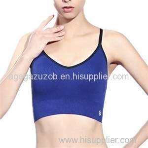 Sports Underwear Women Running Bra Seamless Support Quick-drying Shockproof Yoga Cross Backless Small Vest Bra Top