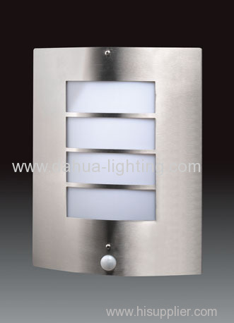 Stainless steel outdoor wall lamp/PIR lamp/Sensor lamp