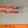 twin tube carbon medium wave infrared heating element