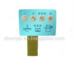 led dimmer fpc circuit membrane switch
