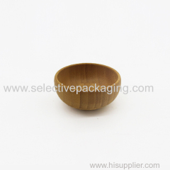 small bamboo cosmetic mask bowl